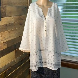 NWOT Maurices Silky Tunic Top Size 1 (1X)